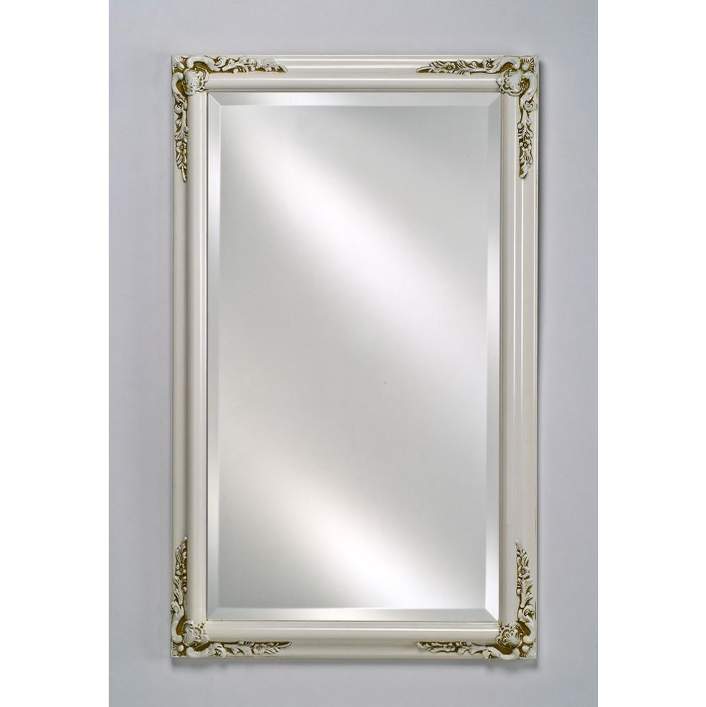 Afina Corporation Sd2026rbsxpwt Single Door 20x26 Recessed Basix Plus Antique White