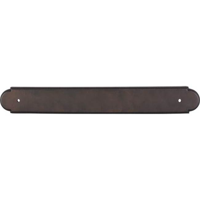 Top Knobs M178 Newton Back Plate Pewter